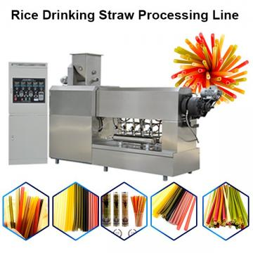 Automatic Pasta Straw Machine Rice Straw Extruder