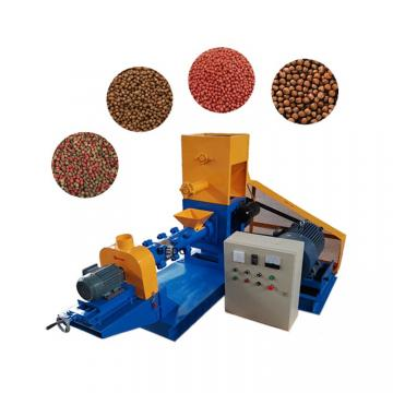 High Capacity Floating Fish Feed Extruder Machine